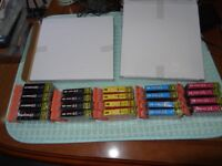 4 SETS OF INK CARTRIDGES FOR CANON MX SERIES. 20 CARTRIDGES