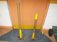 Used Sledge Hammers £10 Each Very Heavy 14lb or 16 lb .Collection South Birmingham