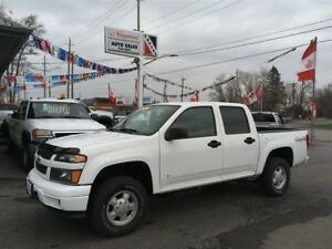 2008 Chevrolet Colorado LT, 4X4, Crew!  Ready for the snow!