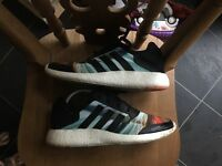 Adidas Boost trainers sz 8 worn twice
