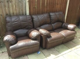 Lether sofa for sale !!!!!!!