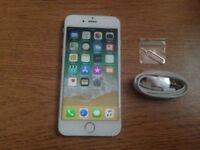 IPHONE 6 SILVER 16GB UNLOCKED £120 NO OFFERS *** ADVERT 115 ***