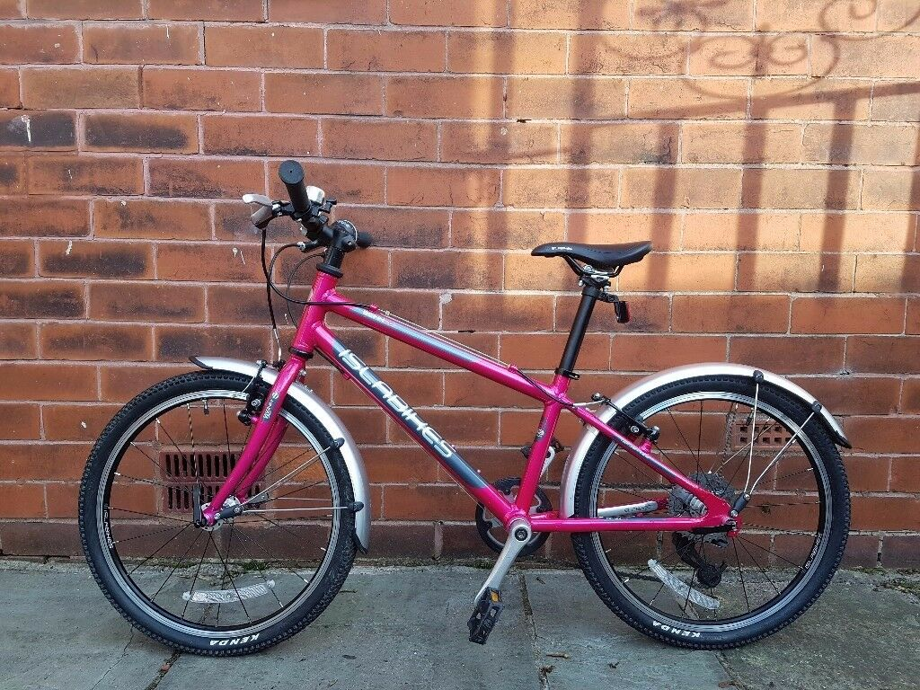 Islabikes Beinn 20 large Pink bike for age 6-8 v good condition