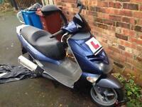Aprillia leonardo 125 moped 125cc