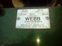 webb 18 inch cut