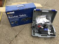 Woodworking Router and Router Table