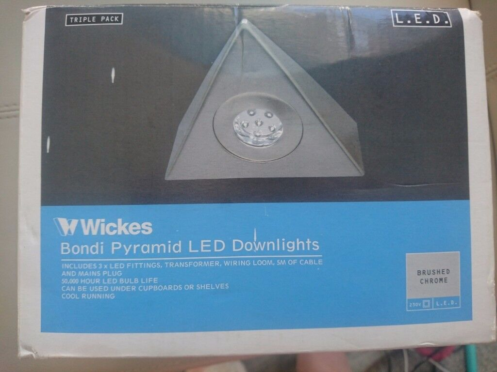 Pyramid Led Downlights X3 In Alva Clackmannanshire Gumtree Wiring Transformers For
