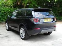 Land Rover Discovery Sport TD4 SE TECH (black) 2017-01-31