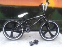 "New Zombie Terror Boys Girls 360 Gyro Freestyle BMX Bike 4 Spoke 20"" Mag Wheels RRP £225"
