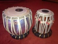 Tabla (Indian) Drums With Carry Bag