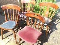 4 Pub Chairs - £10 each