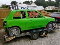 Cars wanted for banger racing we pay more than scrap value £££