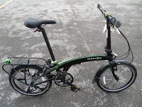 Dahon QIX D8 Brand New Ex Display Folding Bike With Vertical Folding Technology
