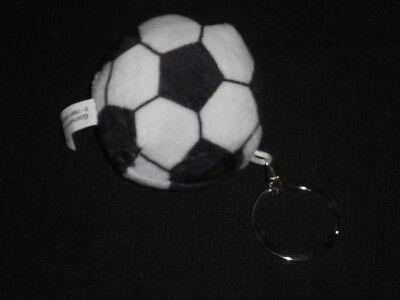 Fußball Schlüsselanhänger aus Plüsch ca. 11 cm