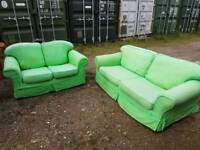 Green set sofas free delivery