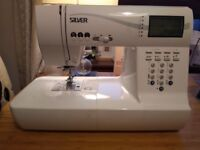 Sewing Machine For Sale - Silver 9500E 503 - Hardly Used - New £500 approx.