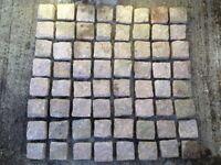 545 Granite Setts. 8.5 Square Meters. Cobbles