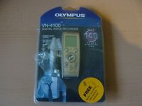 OLYMPUS DIGITAL VOICE RECORDER VN-4100