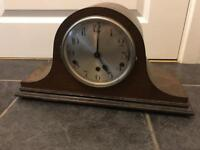 Beautiful old vintage napoleon hat chiming mantle clock