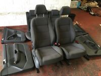 Vw golf mk5 jetta interior, front seats only and all door cards, rear seats not included! bargain