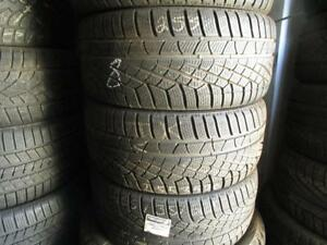 255/35R20 SET OF 4 MATCHING USED PIRELLI WINTER TIRES