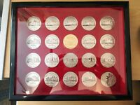 Rare Manchester Utd Busby Babes 50th Year Anniversary Season 2006/7 Collectors Coin Set