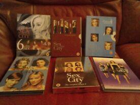 Sex and The City full DVD boxset