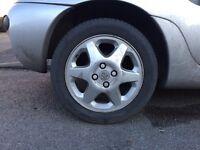 Silver Vauxhall Tigra 1999