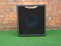 "Ashdown ABM 1x15"" bass cab made in UK"