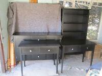 Black Ash Furniture Set