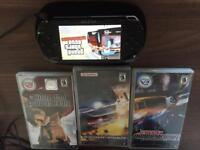 Psp with 4 games
