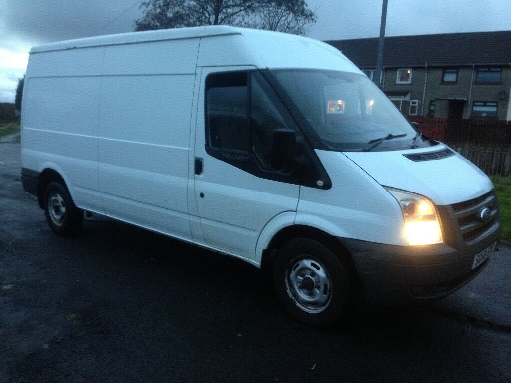 Ford transit 2.4TD, 58 reg, lwb, mot 1 year, 106k miles, very good condition! £2795 kilmarnock