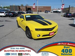 2010 Chevrolet Camaro TRANSFORMERS EDITION | RS PACKAGE | MANUAL