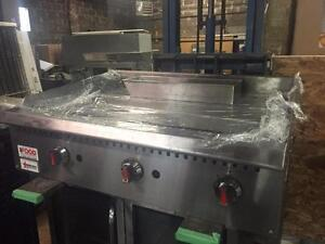 "Commercial Propane Griddle 36"" - Omcan"