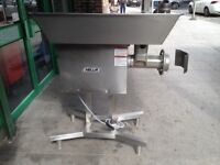 3 PHASE COMMERCIAL SIZE 32 AMERICAN NELLA MEAT MINCER CATERING MACHINE BUTCHERY BUTCHERS KITCHEN