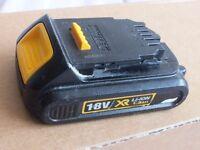 dewalt 18v 1.3 Ah battery very good condition