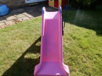 Little Tikes slide pink and purple - good condition.