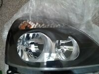 Renault Clio Mk2 Headlight Right Drivers Side
