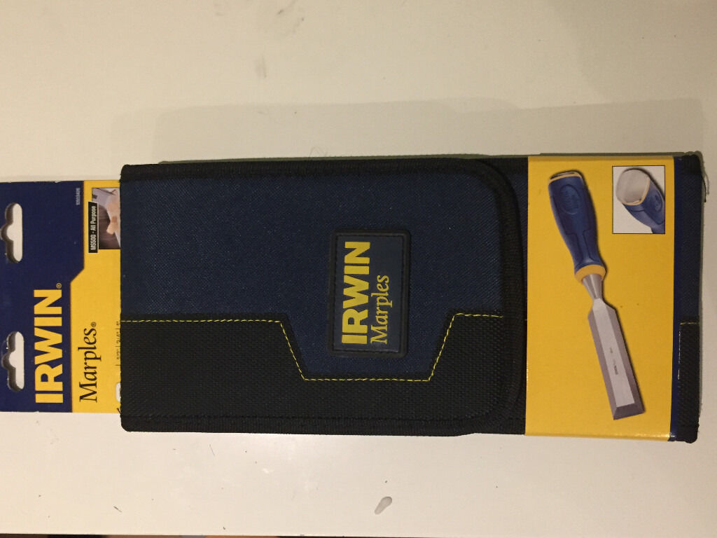 Irwin Marples 3 Piece Chisel Set with Wallet 13mm,19mm,25mm / Product Code:MS500