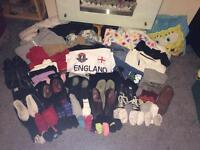 Job lot of all sorts of men's, women's and bedding