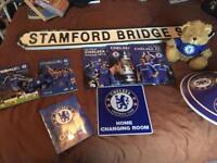 Chelsea football club memorabilia