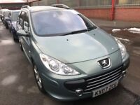 Peugeot 307 Sport Wagon 7 Seater with Panoramic Roof