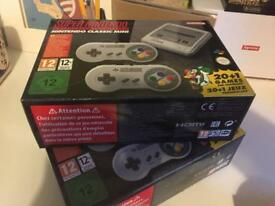 Super Nintendo SNES mini