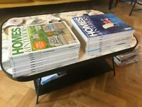 18 Back Issues of Homes and Interiors Scotland Magazine