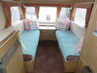 Lunar Premiere 516 L Silver Jubilee 5 Berth Caravan with 2 Awnings and lots of extras 1994 model