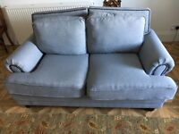Sofa 2 months old to small for room, bought from Wayfare £535 grey two seater new condition.