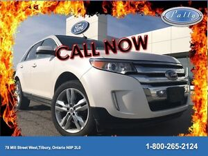2013 Ford Edge Limited, Adaptive Cruise, Roof, Nav!!!