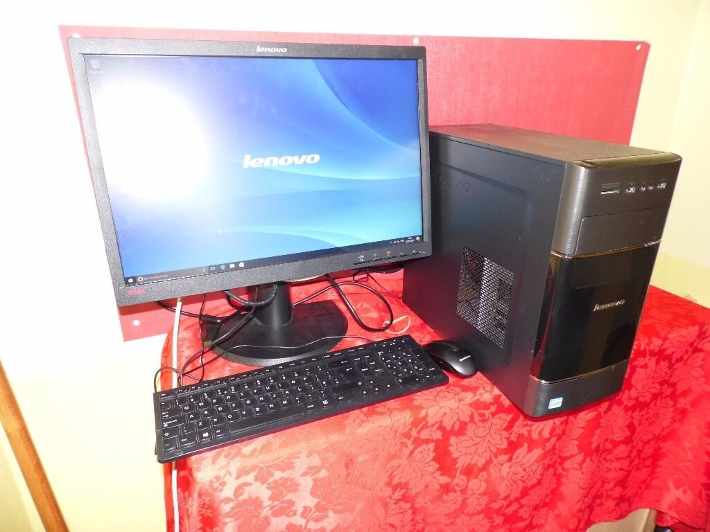Lenovo H520 home pc system Intel core i3in Newcastle, Tyne and WearGumtree - Lenovo H520 home pc system nice clean lightly used family pc from smoke and pet free home powerful 3.4ghz intel core i3 3240 processor fitted with 4gb ddr3 ram 500 gb hard drive, loads of room for storage Original Lenovo keyboard and mouse wifi built...