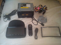 JVC KW-NX7000 Navigation/DVD Double Din Receiver - Sat Nav/CD/DVD/USB