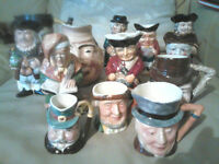TOBY JUG COLLECTION JOBLOT